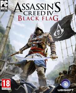 Assassin's Creed IV Black Flag £8.49 Amazon UK PC download