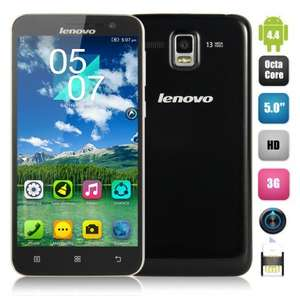 "Lenovo A806 Android KITKAT 4.4 Octa-core 3G LTE 4G WCDMA Phone w/ 5.0"" Screen - £136.14 @ Dealextreme"