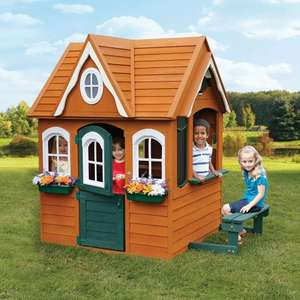 Solowave Cedar Summit Georgian Manor Playhouse (2-10 Years) @ Costco - £249.99