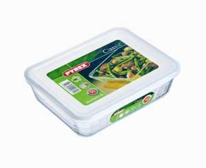 Pyrex Rectangular Dish with Plastic Lid, 1.5L - £3.50 @ Amazon (add on)