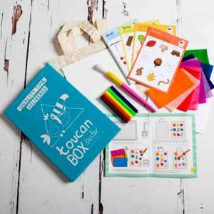 Free Toucan kids craft box - get your first taster box for free.