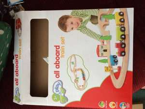 Sainsburys Toys - Wooden Train Set (compatible with Brio)