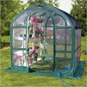Parasene Pop-Up Green House - 6ft x 8ft - reduced to £20 in B&Q!!