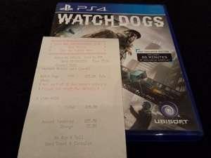 Watchdogs PS4 - £25 @ Grainger Games instore