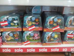 Octonauts Figure Packs,  were £5.97, now £2.50 in Asda.