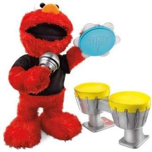 Sesame Street Lets Rock Elmo Toy £23.99 Sold by Appods and Fulfilled by Amazon