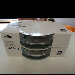 Ashtray 25p for two @ Wilko instore