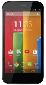 Motorola Moto G Pay As You Go Handset (Vodafone) - Black- 8GB - £90 @ Amazon