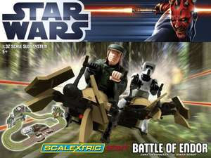 Scalextric Start Battle of Endor Star Wars Set - C1288 at Time Tunnel Models £42.00 @ Goldstarstockists