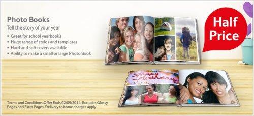 Tesco half price photo books
