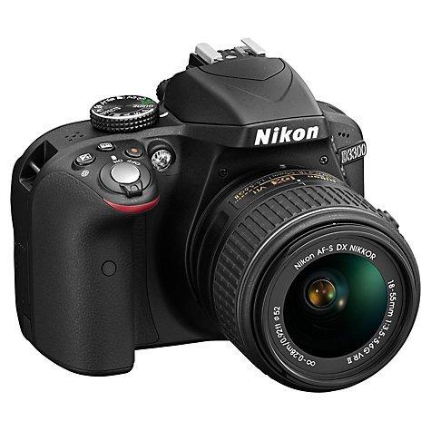 Nikon D3300 + 18-55mm VR II Lens + Nikon Accessory Kit- £369.04 @ John Lewis