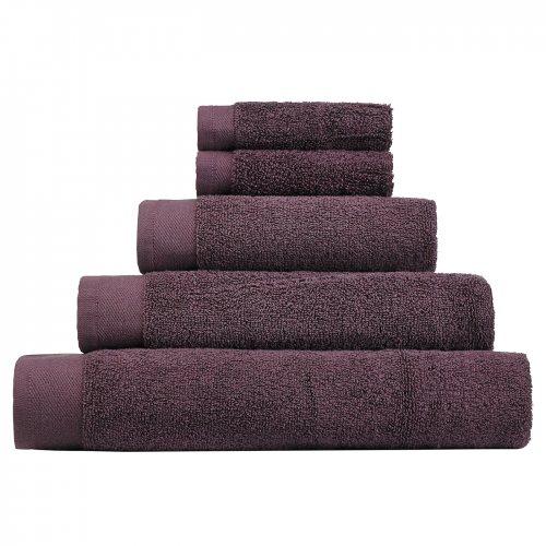Asda towels - 2 pk Face cloths 50p, hand towels £1.50, Bath towel £2 and bath sheet £3 in Mauve
