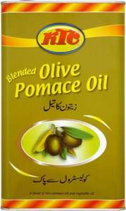 KTC Blended Pomace Olive Oil (5L)4 for £23 @ costco