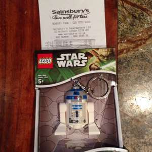 Lego Star Wars led light key ring £1.60 sainsbury's in store