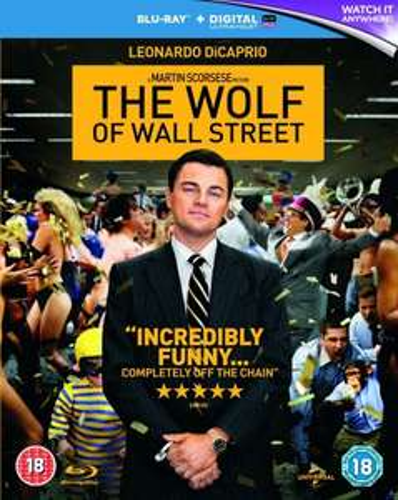 The Wolf of Wall Street Blu-Ray £10 @ Amazon