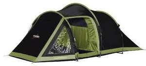 Vango Venture 450 Three Poled Tunnel Tent - Black, 4 Person £60.88 (RRP£150) @ Amazon