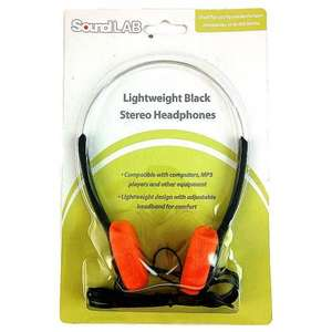 Sound LAB Retro Sony Walkman Style Headphones (Star Lord) - Juno Records - £5.48 Delivered