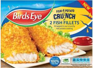 Birds Eye Fish & Potato Crunch Fish Fillets (320g) ONLY £2.00 @ Asda