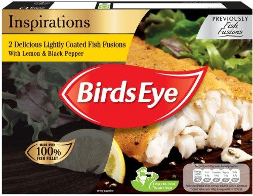 Birds Eye Inspirations Fish (72% Alaska Pollock) with (Garlic & Herb) (300g) or Tomato & Oregano (300g) ONLY £1.50 @ Asda