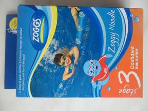 Zoggs Zoggy Inflatable Noodle Swimming Aid £2.50 INSTORE TESCO