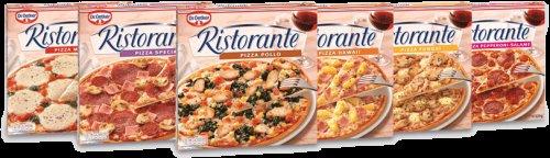 Ristorante pizzas; salame/spinach/mozzarella £1.75 @ Farmfoods