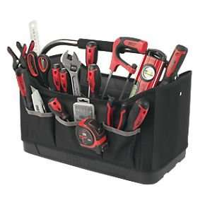 Screwfix-Forge Steel 56 piece tool kit and tote bag £34.99