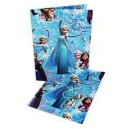 Frozen Gift Wrap Pack - 2 Sheets Of Paper & 2 Tags 99p @ The Works Online - Free Delivery (code FREEDELIVERY ) & 21% Quidco