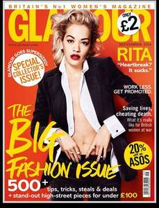 3 issues of Glamour magazine for £1 plus free Bayliss and Harding gift set at magazineboutique.co.uk