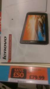 "Lenovo A8-50 8"" 8 GB White Wi-Fi Android Tablet - £79.99 @ Sainsburys instore"
