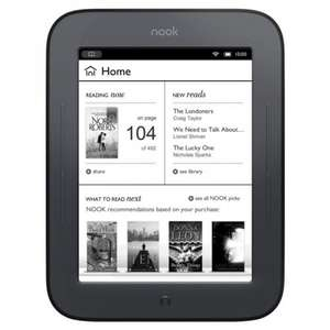 Nook Simple Touch Glowlight - £29.00 instore @ Sainsburys