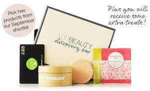 Make-up/Beauty Box, first one free using code ybd342 (cancel subscription to avoid monthly charges)