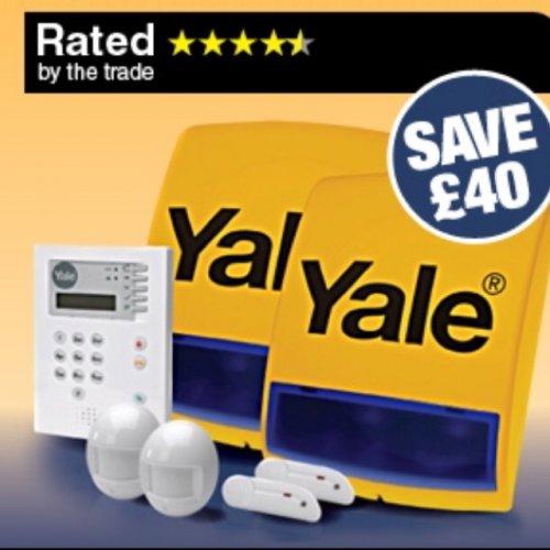 Yale burglar alarm - £159.99 @ Screwfix