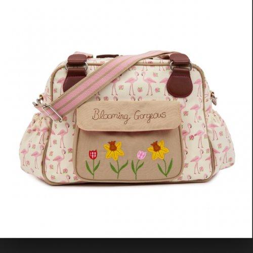 Blooming Gorgeous Flamingo Walk Changing bag £39.95 @ pinklining