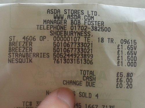 Bacardi Breezer Orange 70cl £1.65 @ Asda