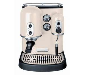 Currys KITCHENAID 5KES100BAC Artisan Espresso Machine - Almond Cream / Red £349.97