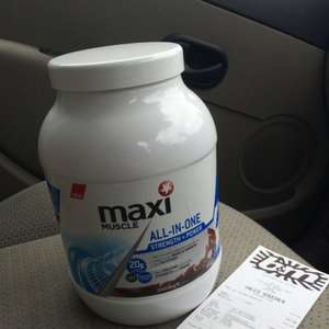 Maxi Muscle All in One Protein Shake Chocolate 990g £12.99 @ B&M