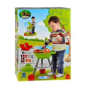 Ecoiffier 16 Piece Toy BBQ - Homebase £5.99