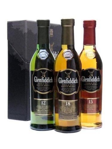 Glenfiddich 3 x 20cl Single Malt Whisky £7.50 @ asda (£40 elsewhere)