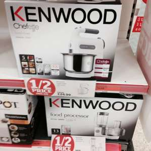 Kenwood HM680 hand mixer with bowl half price £24.99 @ Sainsburys in store