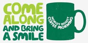 Free Coffee Morning Kit Macmillan cancer support