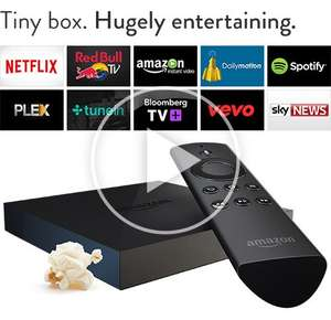 Amazon Fire TV £79/£49 for Prime Members. Pre-order now!