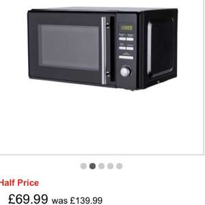 De'Longhi EG820CWW MICROWAVE WITH GRILL £69.99 FROM £139.99 @ Argos