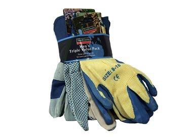Men's Garden Gloves Triple Pack - Bargain for £3 @ Countrywide Farmers instore
