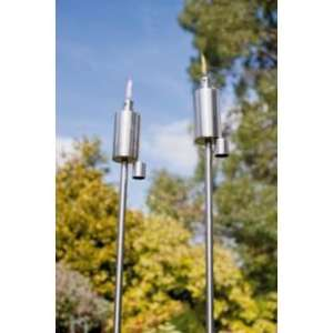 La Hacienda Stainless Steel Garden Stake Torches now £7.99 set of 2 at Argos rrp £19.99