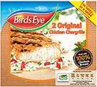 [ASDA] Birdseye Chicken Chargrills £1.00.  40p After Quidco (£1.00 - 60p)