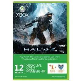 12 + 1 Month Xbox Live Gold Membership (i.e. 13 months) + Halo 4 Corbulo Emblem (Xbox One/360) £23.27 with Facebook code @ CDKeys