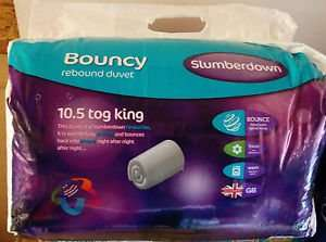 Slumberdown Bouncy 10.5 tog Duvet Double @ Tesco instore - £5