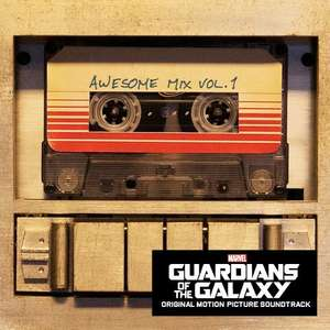 Guardians of the Galaxy - Awesome Mix vol.1 CD soundtrack + Autorip MP3 copy, Just £5 at Amazon! (£10 min/prime)