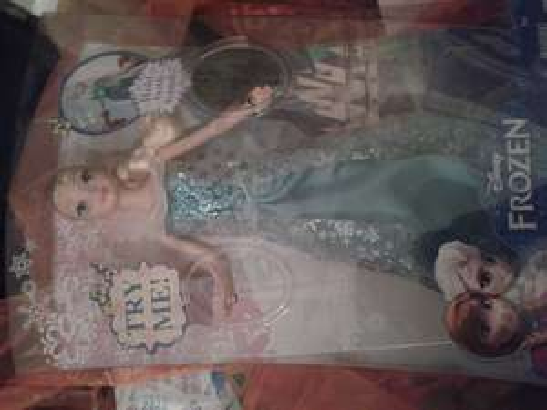 disney frozen singing doll £14.99 @ Sainsbury's