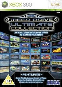 Sega Megadrive Ultimate Collection Pre-owned (Xbox 360) £7.99 delivered @ Game